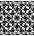 Design seamless monochrome whirlpool pattern vector