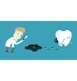 Spy look for bacteria vector