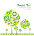 Tree abstract background vector