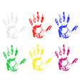 Handprint 03 vector