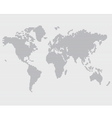 Striped line world map template vector
