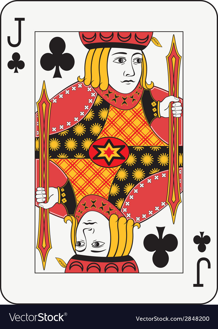 Jack of clubs vector | Price: 1 Credit (USD $1)