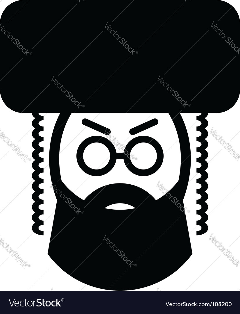 Jewish man vector   Price: 1 Credit (USD $1)