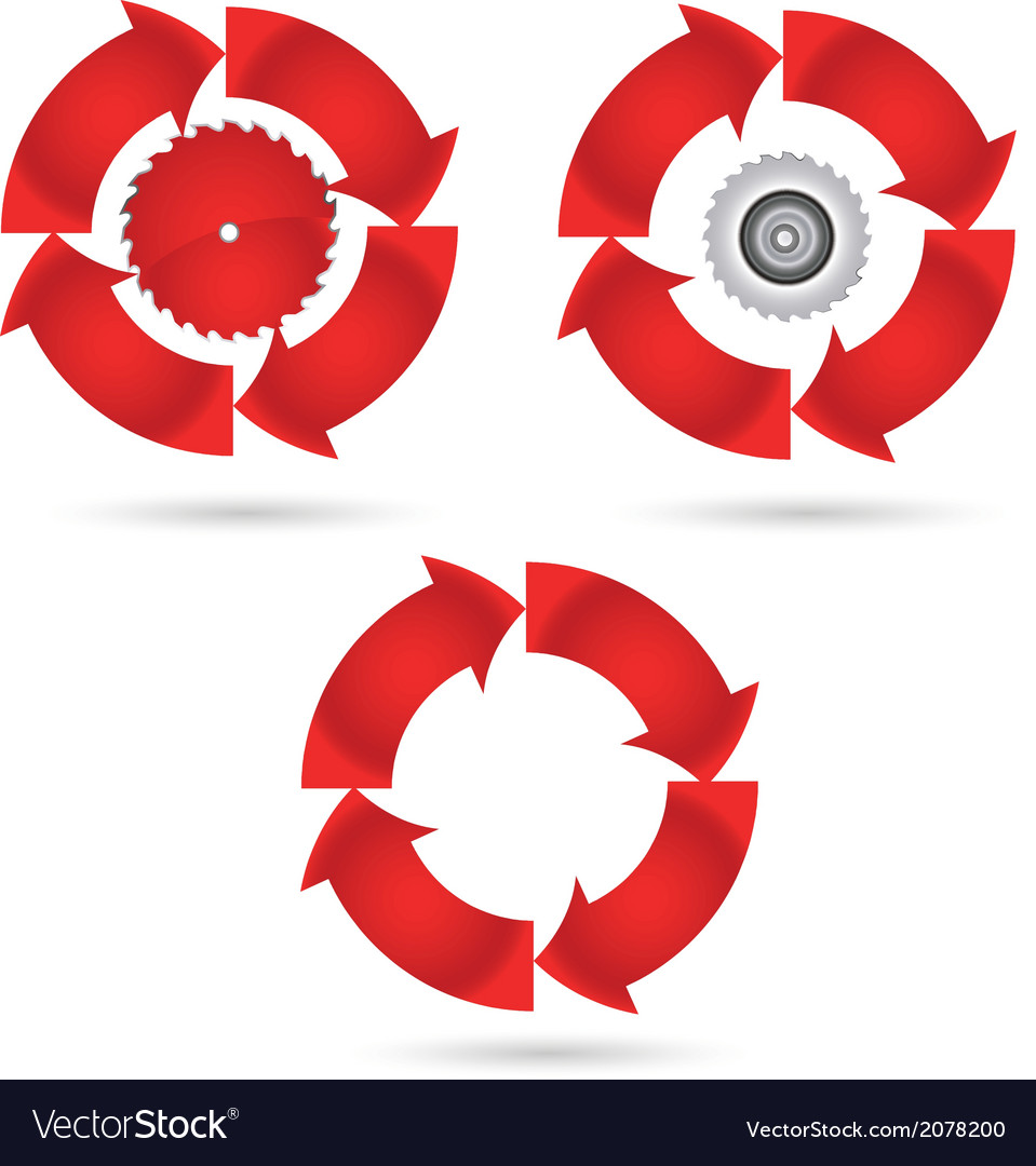 Red circle vector | Price: 1 Credit (USD $1)