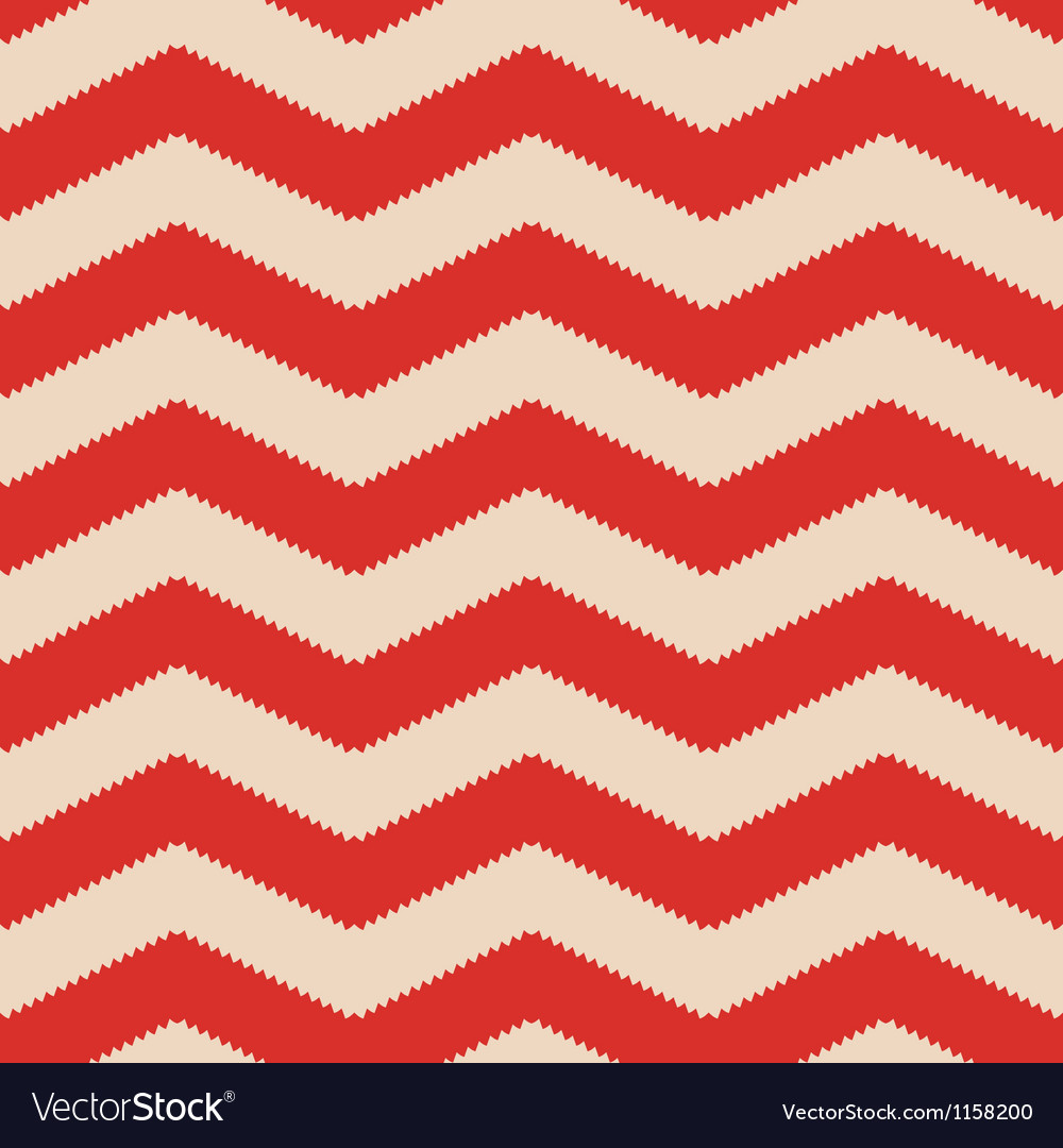 Red jagged chevron vector | Price: 1 Credit (USD $1)