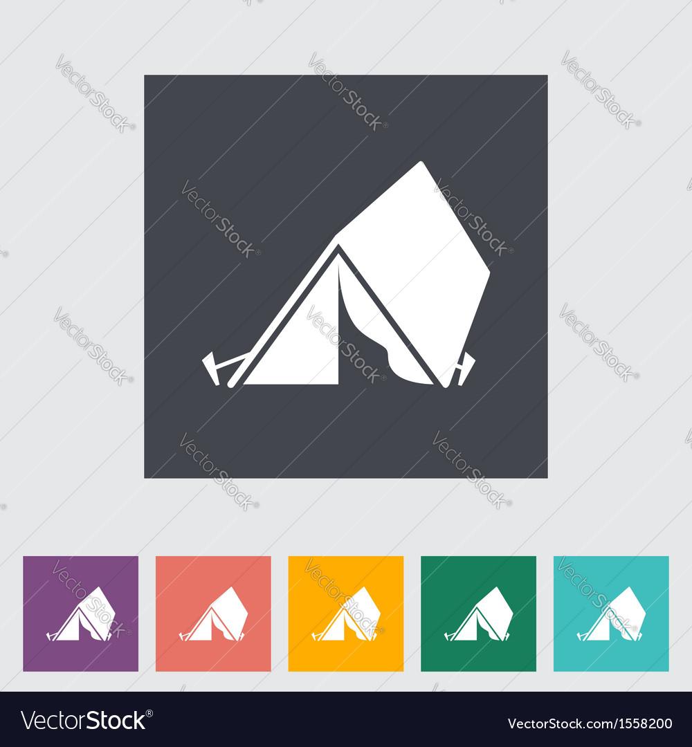 Tent vector | Price: 1 Credit (USD $1)