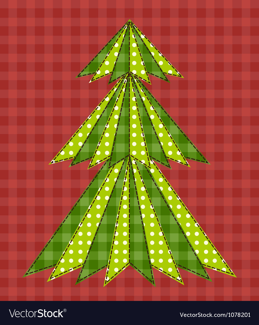 Christmas tree for scrapbooking 5 vector | Price: 1 Credit (USD $1)