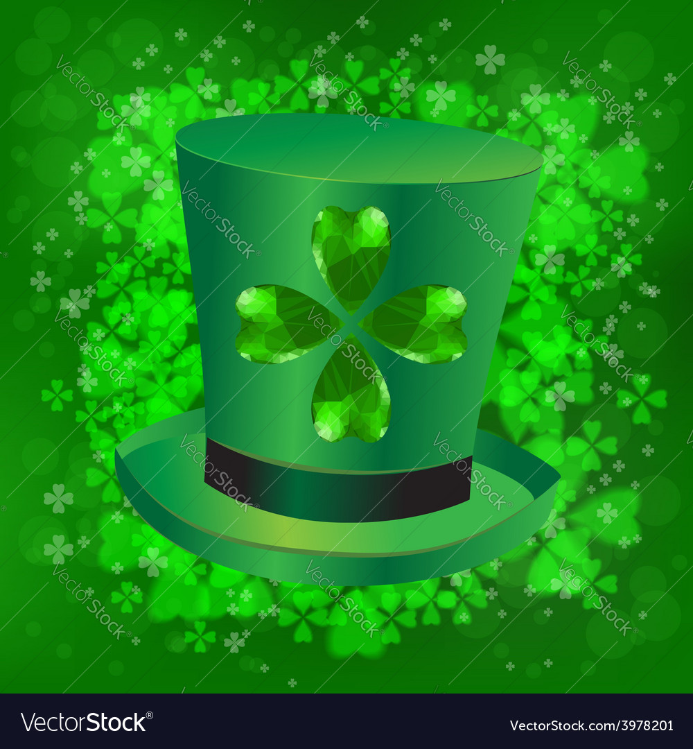 Green hat vector | Price: 1 Credit (USD $1)