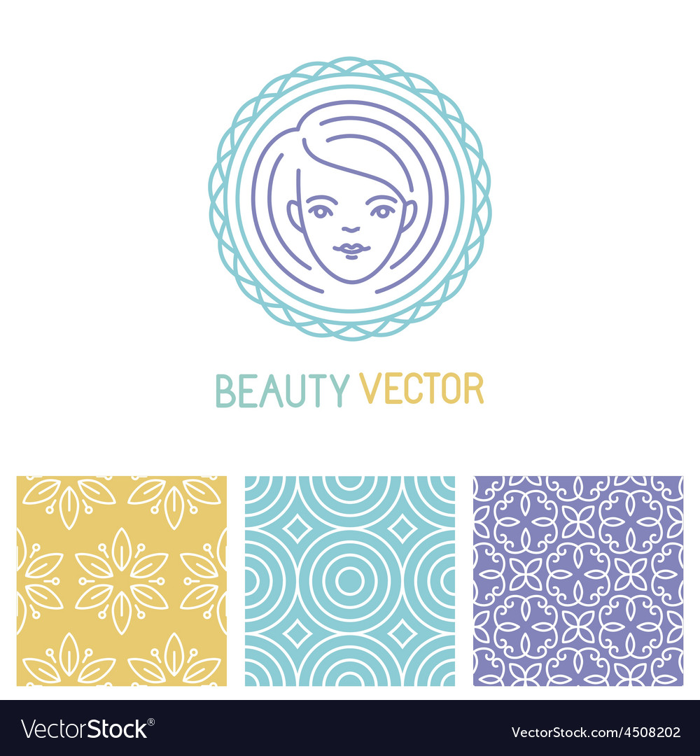 Beauty logo design template vector | Price: 1 Credit (USD $1)