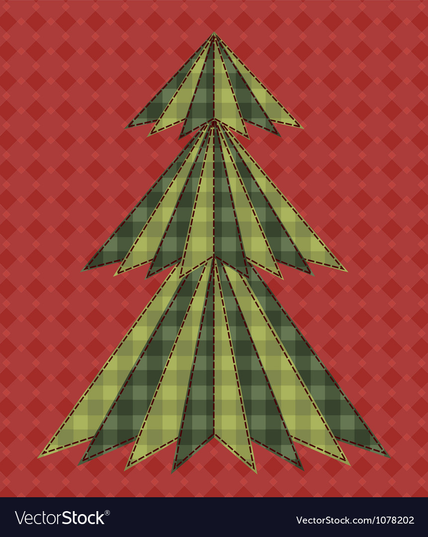 Christmas tree for scrapbooking 6 vector | Price: 1 Credit (USD $1)