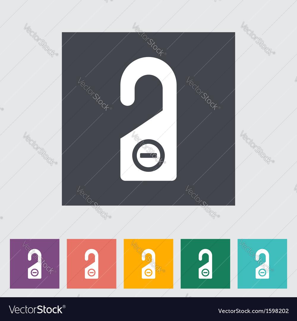 Door tag vector | Price: 1 Credit (USD $1)