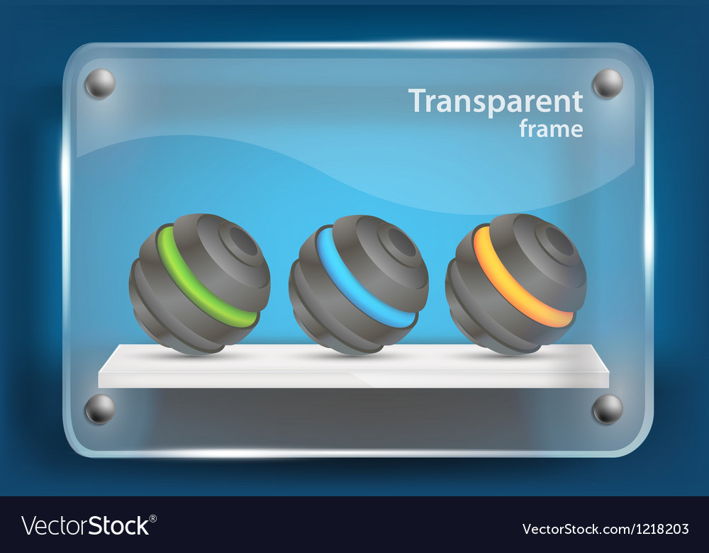 Background with glass frame vector   Price: 3 Credit (USD $3)