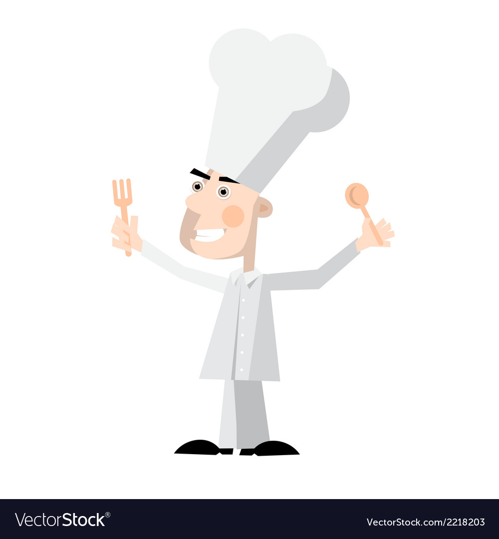 Chef - cook vector | Price: 1 Credit (USD $1)