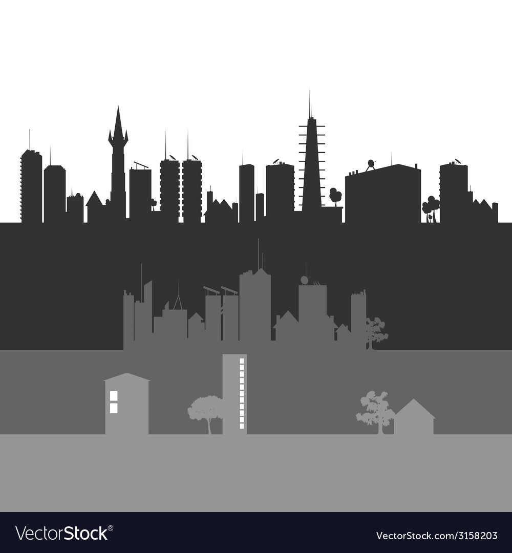 City art vector | Price: 1 Credit (USD $1)