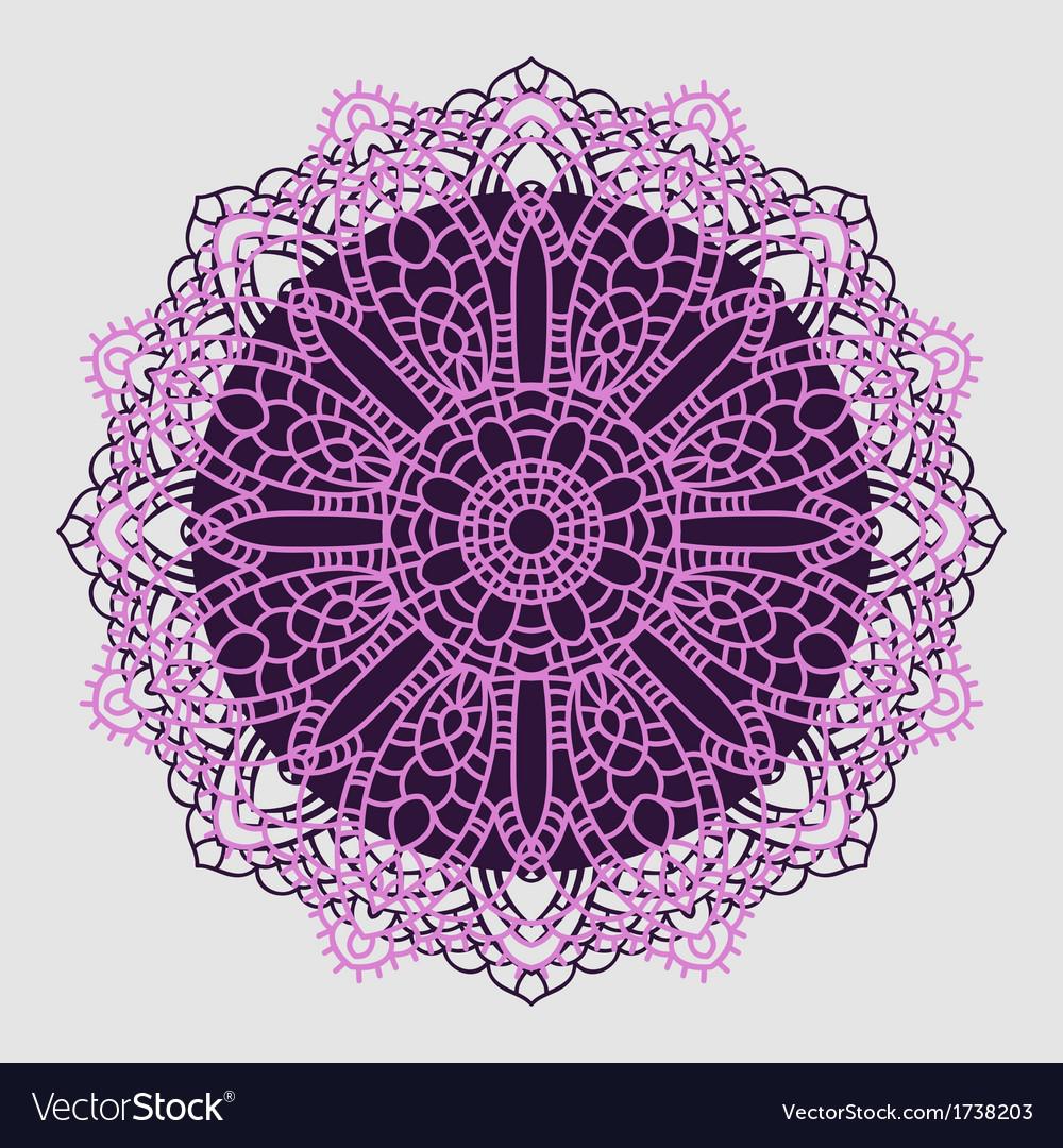 Mandala indian decorative pattern vector   Price: 1 Credit (USD $1)