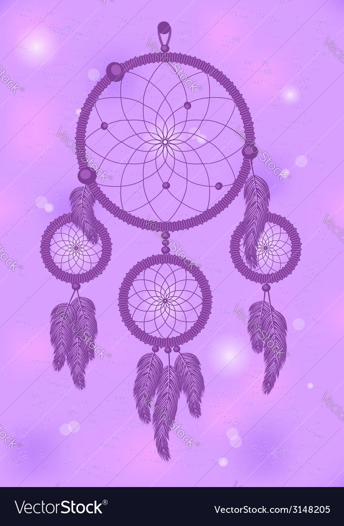 Dream catcher 2 vector | Price: 1 Credit (USD $1)