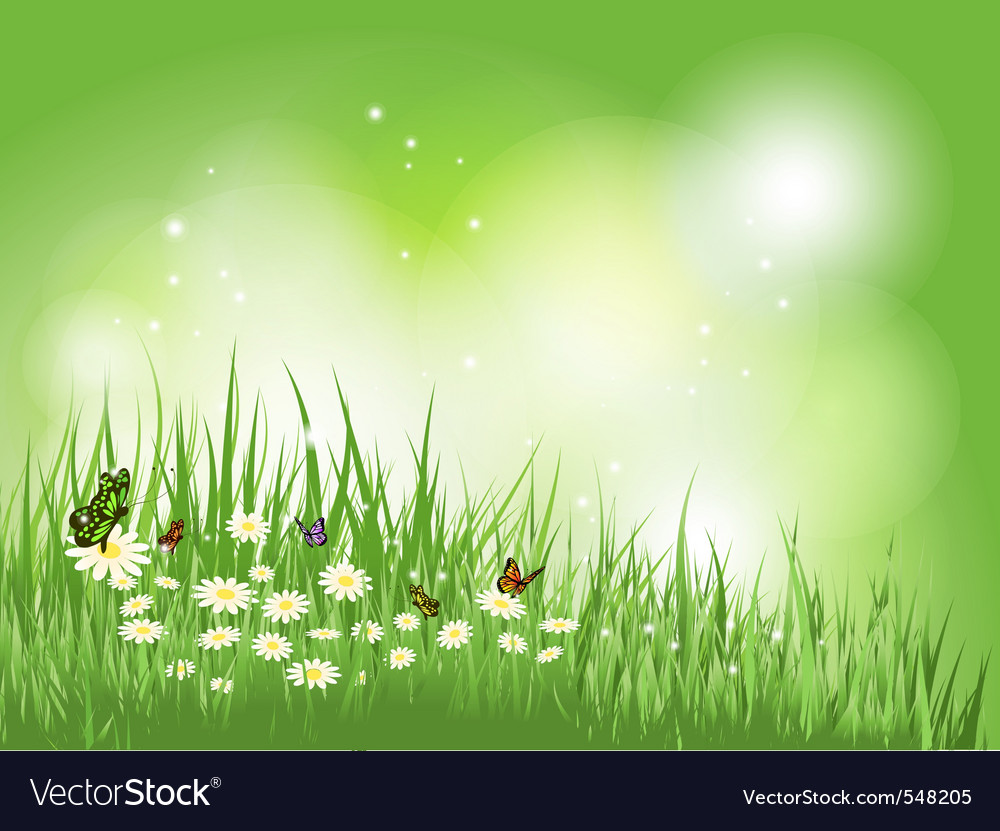 Nature scene vector | Price: 1 Credit (USD $1)