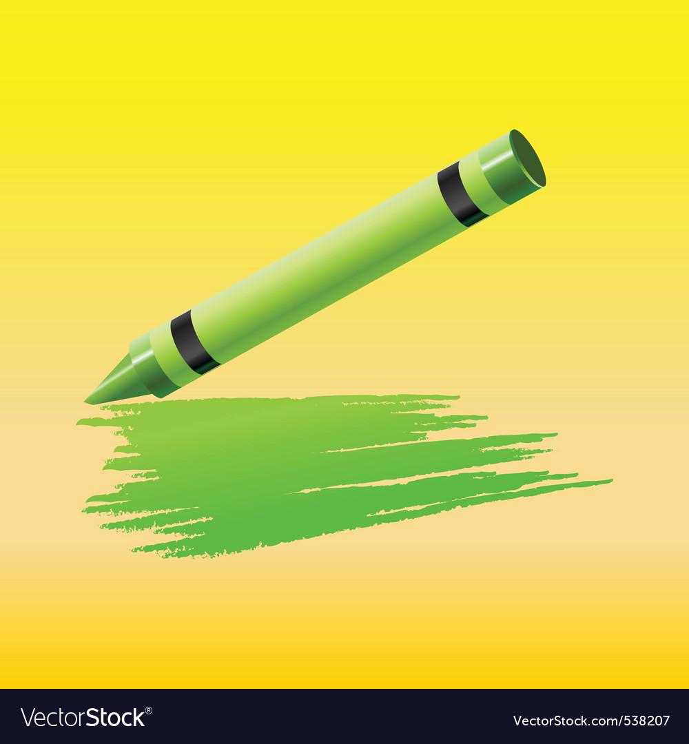 Crayon vector | Price: 1 Credit (USD $1)