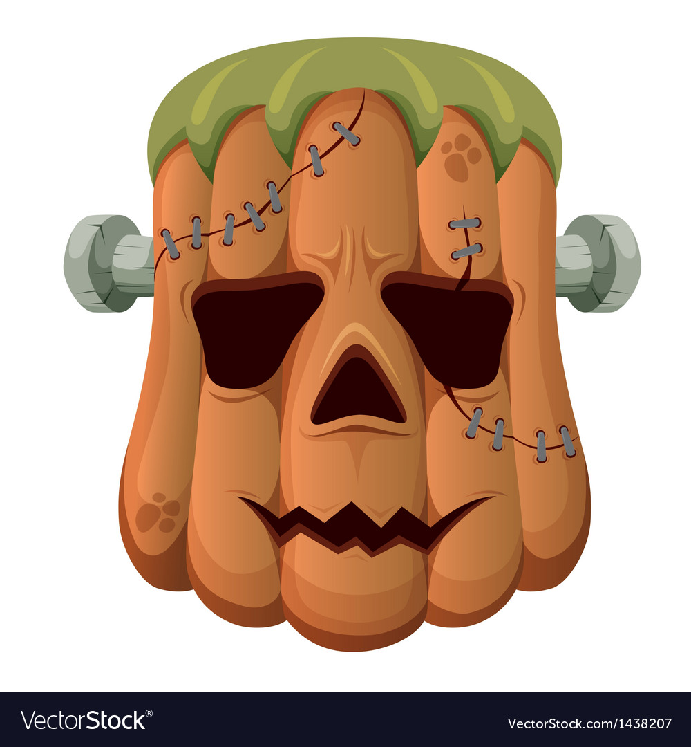 Halloween pumpkin vector | Price: 1 Credit (USD $1)
