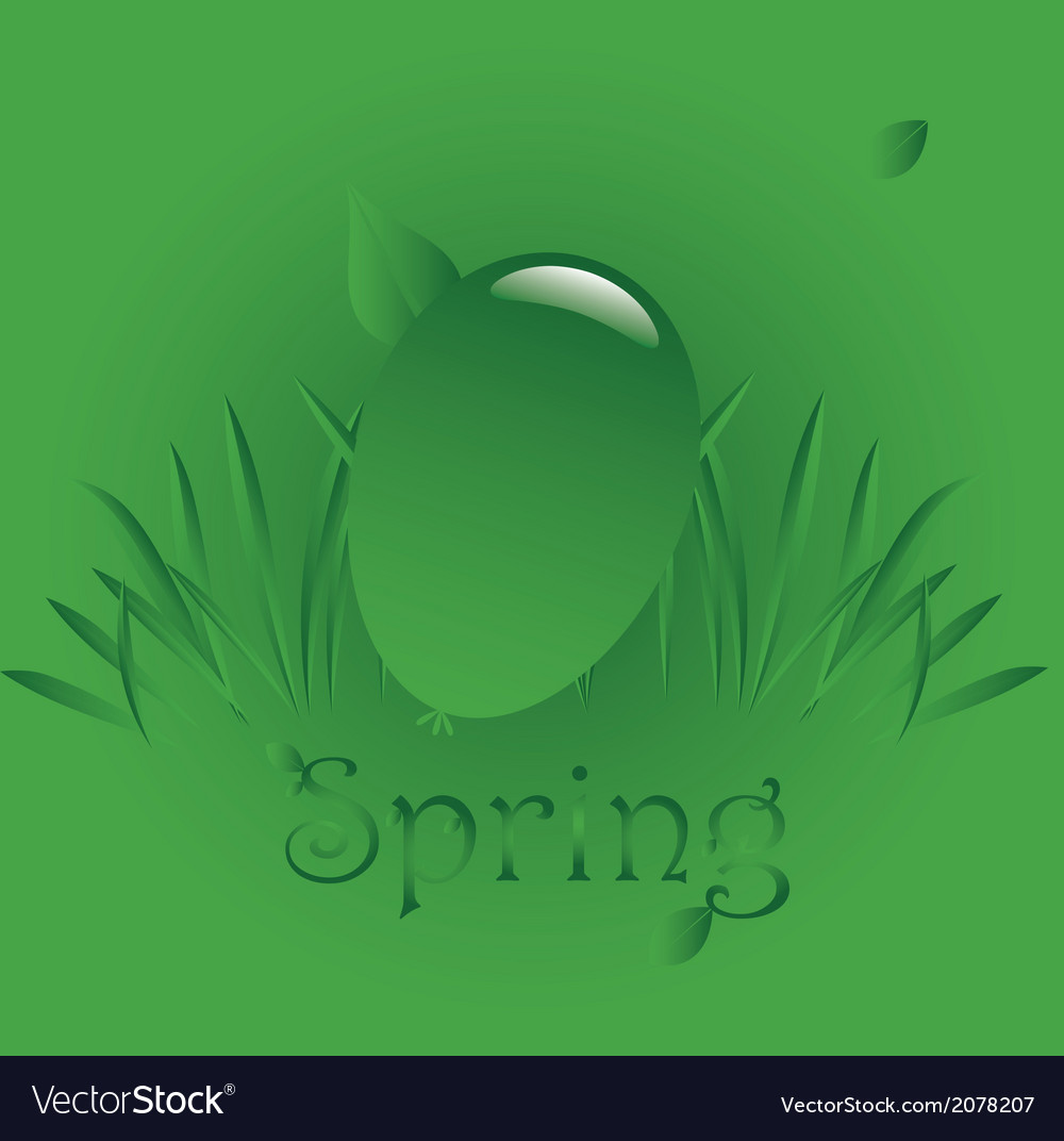 Spring easter 1 vector | Price: 1 Credit (USD $1)