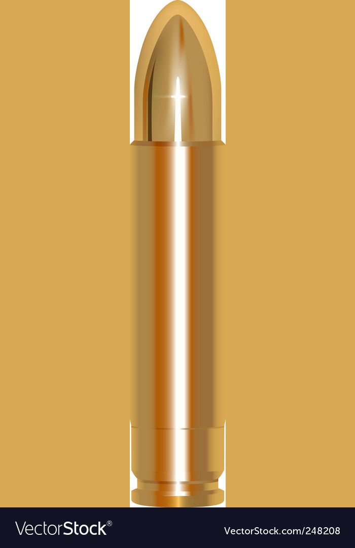 Golden bullet vector | Price: 1 Credit (USD $1)