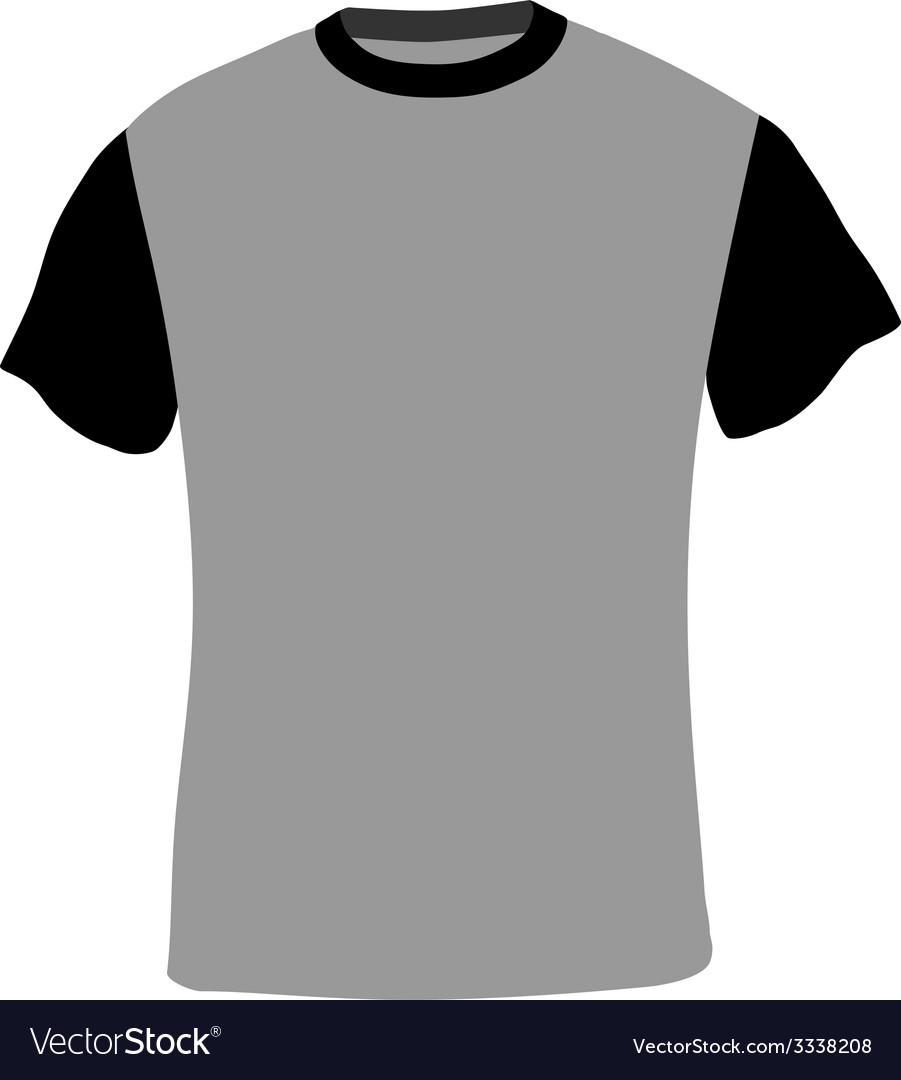 Man shirt short sleeves vector | Price: 1 Credit (USD $1)