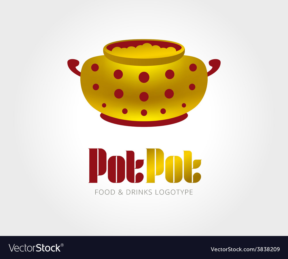 Abstract pot logo template for branding and vector | Price: 1 Credit (USD $1)