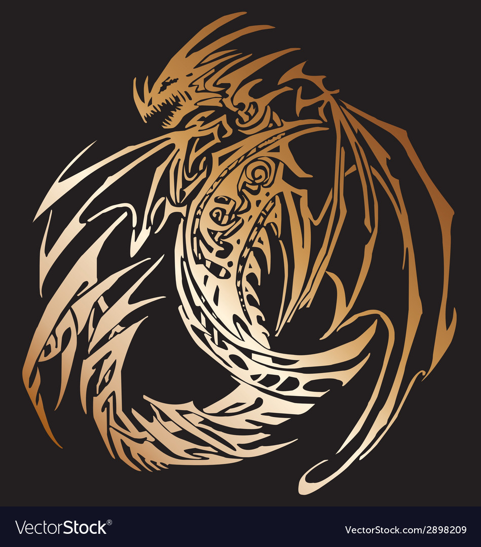 Dragon save download preview dragon vector | Price: 1 Credit (USD $1)