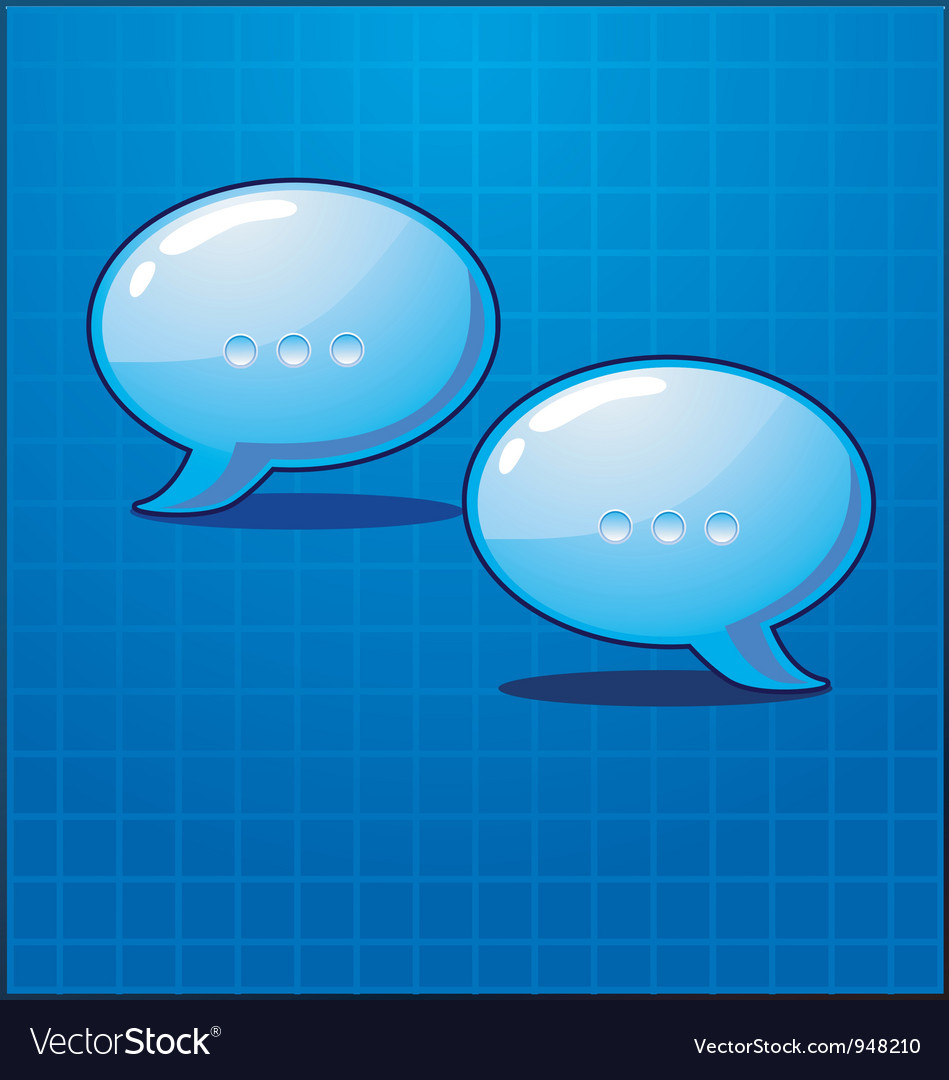 Bubble chat icon vector | Price: 1 Credit (USD $1)