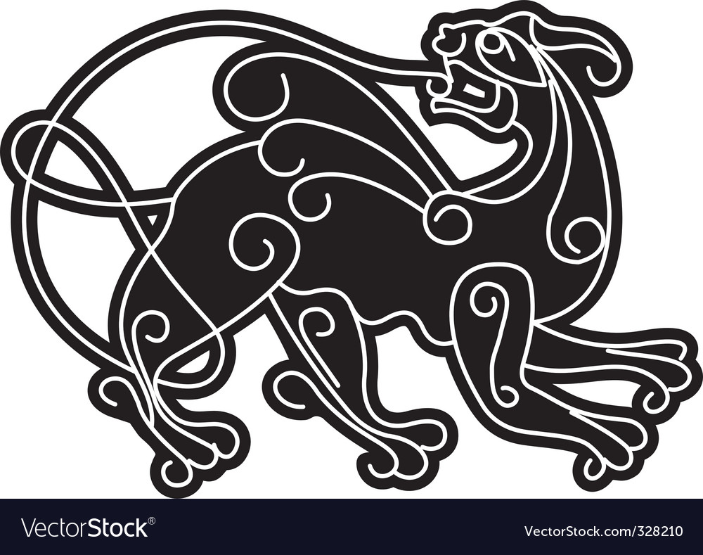 Smartly slavic mythical deity vector | Price: 1 Credit (USD $1)