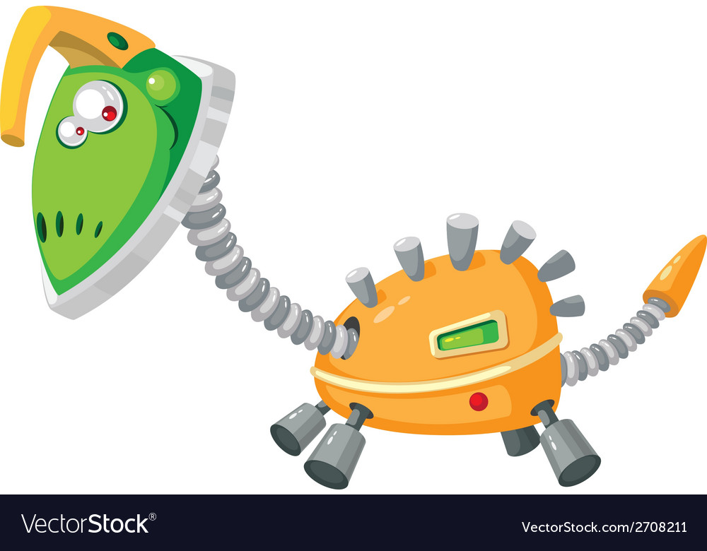 Dinorobot mechanical vector | Price: 3 Credit (USD $3)