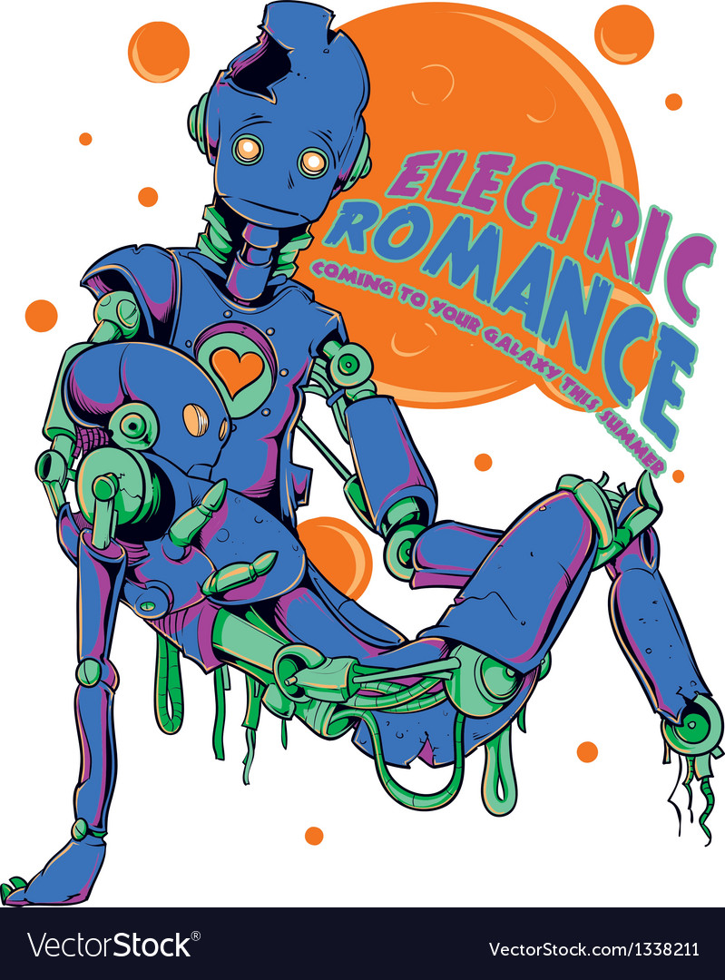 Electric romance vector | Price: 1 Credit (USD $1)