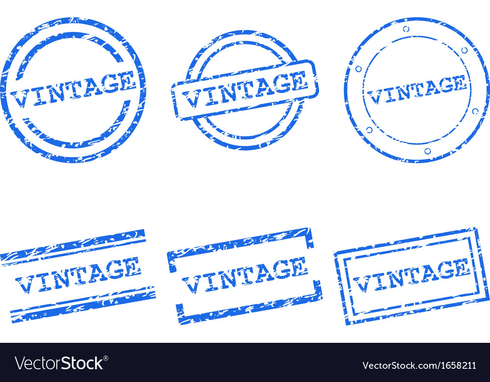 Vintage stamps vector | Price: 1 Credit (USD $1)