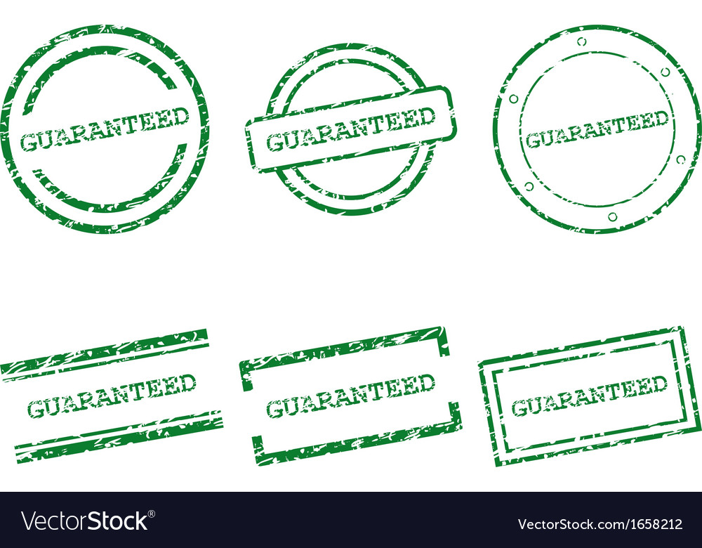 Guaranteed stamps vector | Price: 1 Credit (USD $1)
