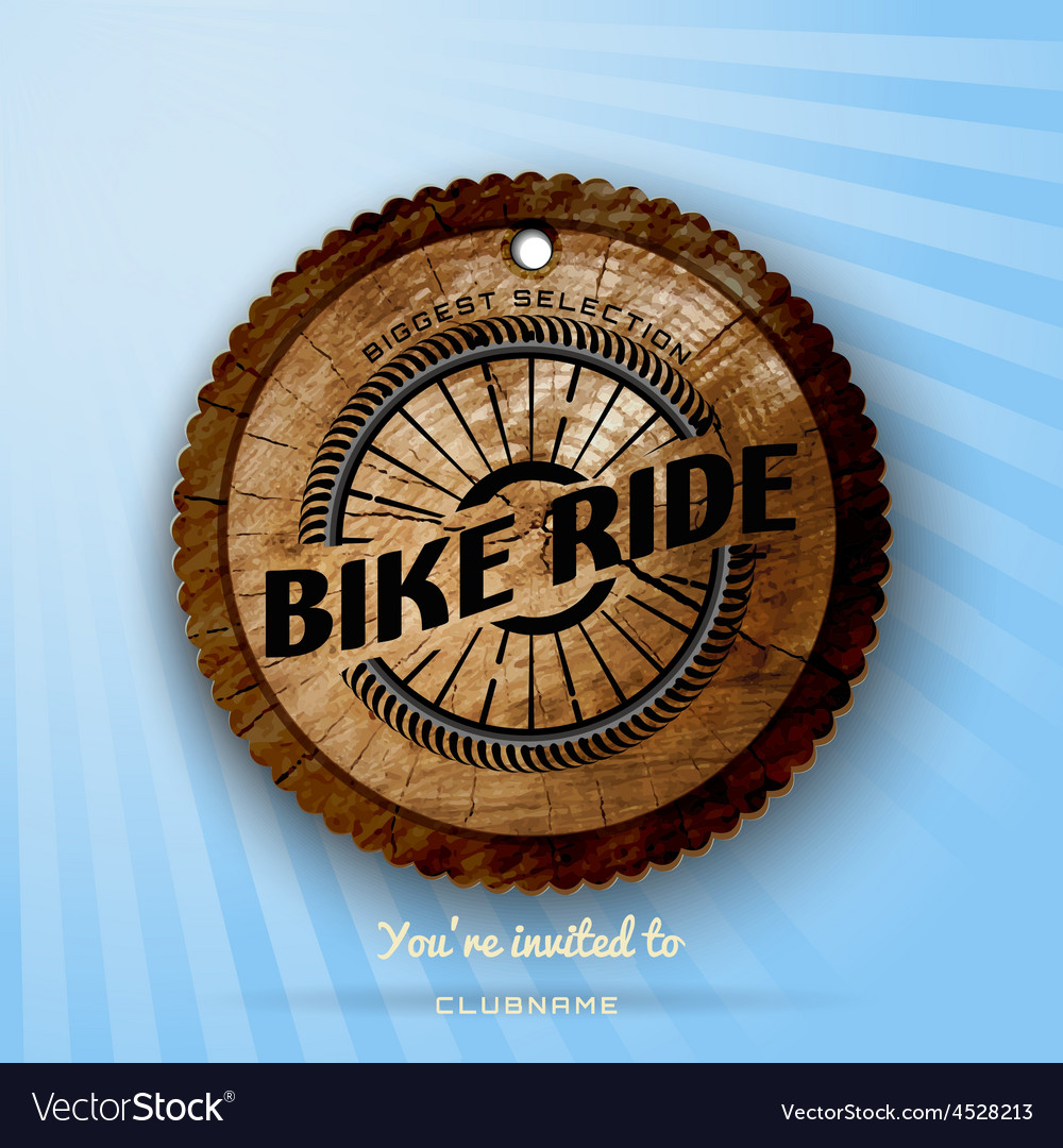 Bicycle badges logos and labels for any use vector | Price: 1 Credit (USD $1)
