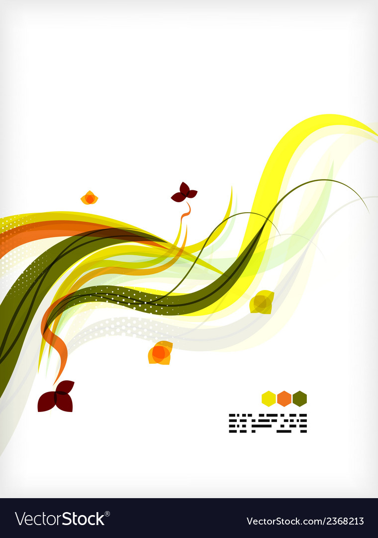 Colorful floral design templates vector   Price: 1 Credit (USD $1)