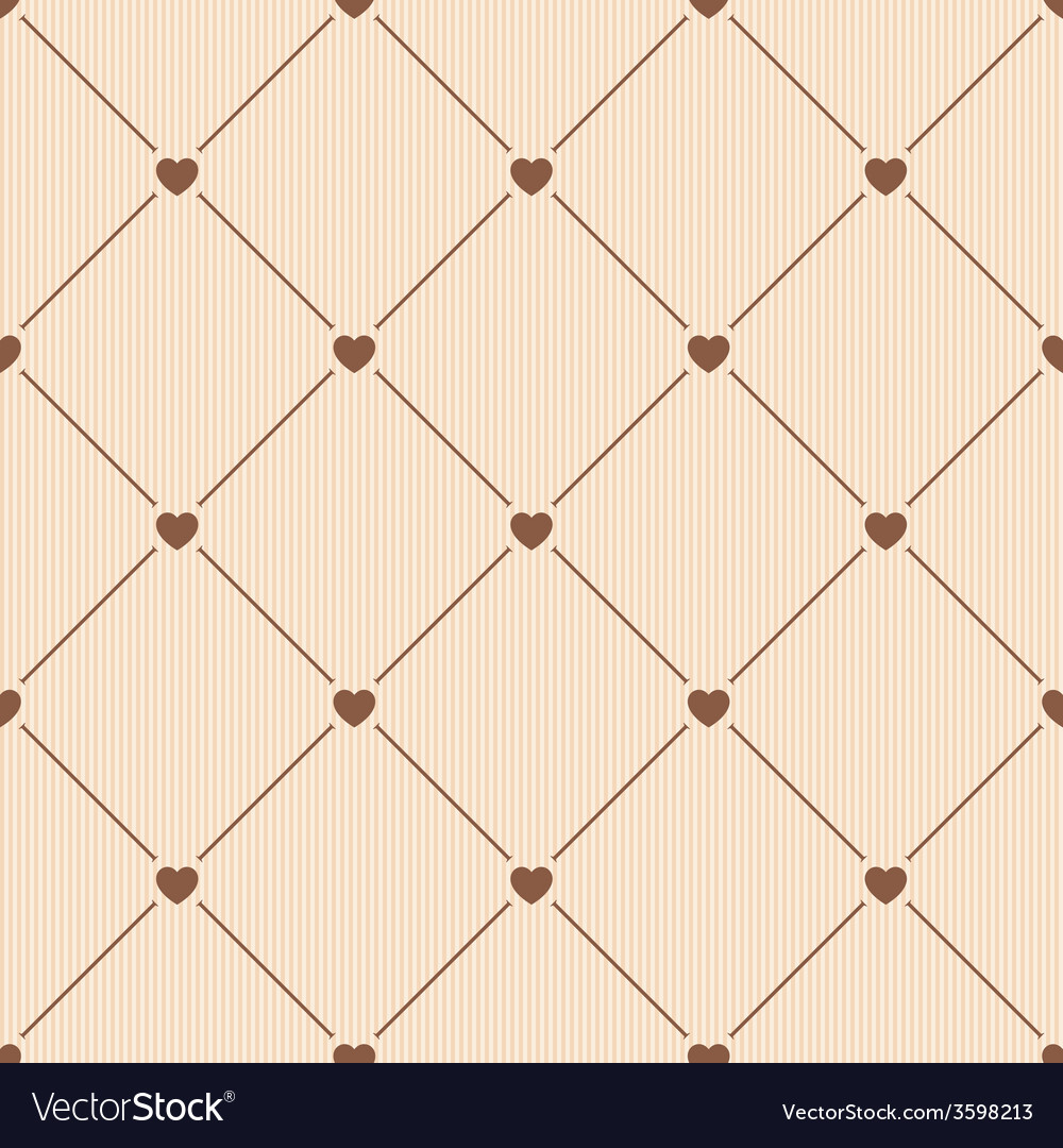 Hearts seamless pattern vector | Price: 1 Credit (USD $1)