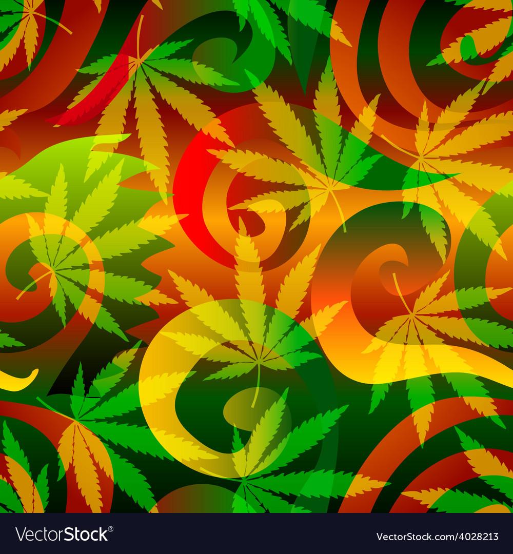 Marijuana background vector | Price: 1 Credit (USD $1)