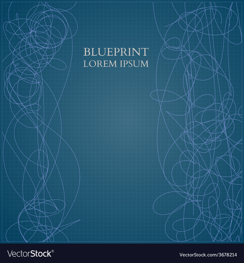 Abstract blueprint background for business vector | Price: 1 Credit (USD $1)