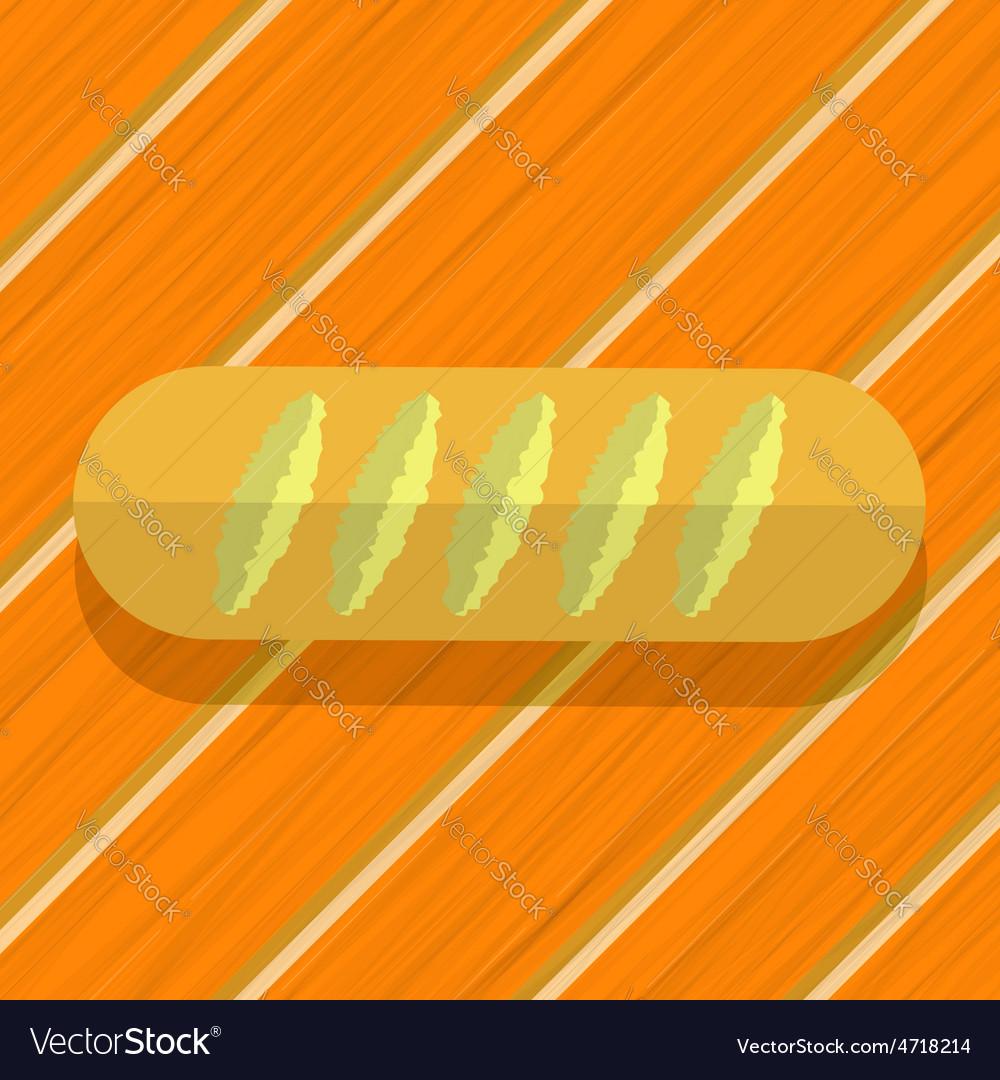 Loaf bread vector   Price: 1 Credit (USD $1)