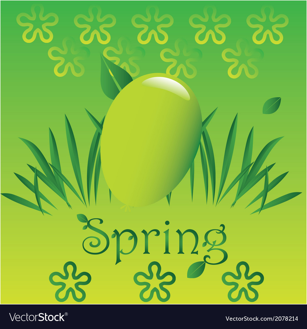 Spring easter 3 vector | Price: 1 Credit (USD $1)