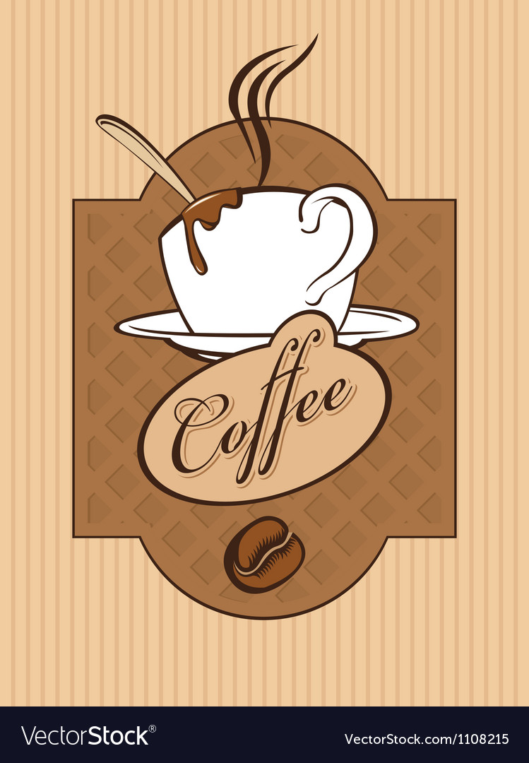 Chocolate coffee vector | Price: 1 Credit (USD $1)