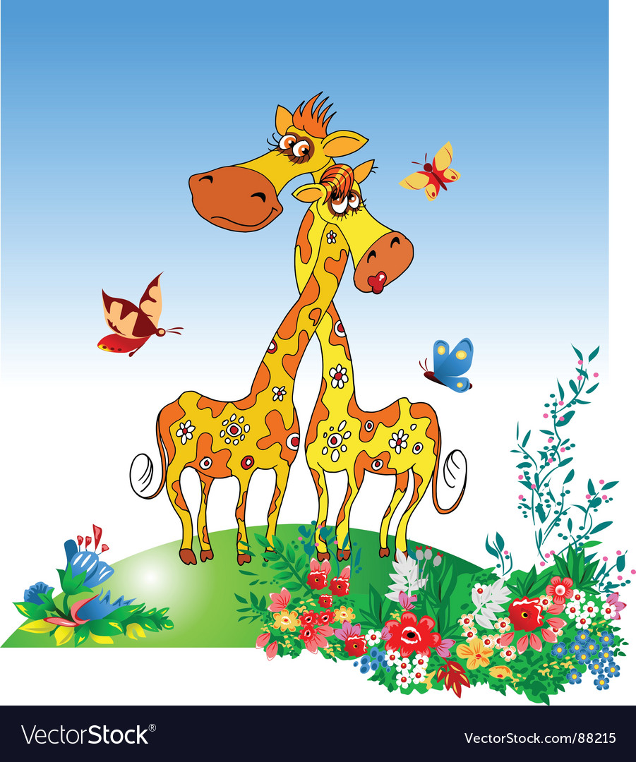 Giraffe vector | Price: 1 Credit (USD $1)