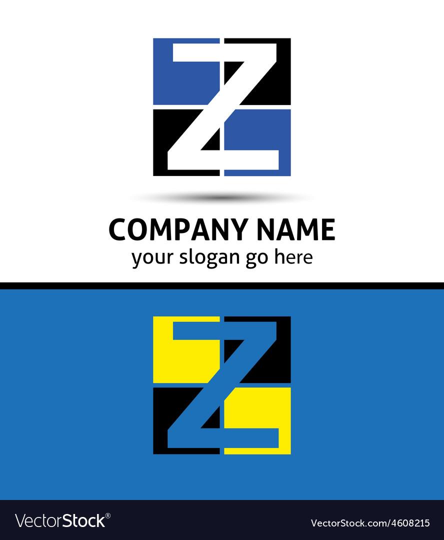 Letter z logo symbol template elements vector | Price: 1 Credit (USD $1)