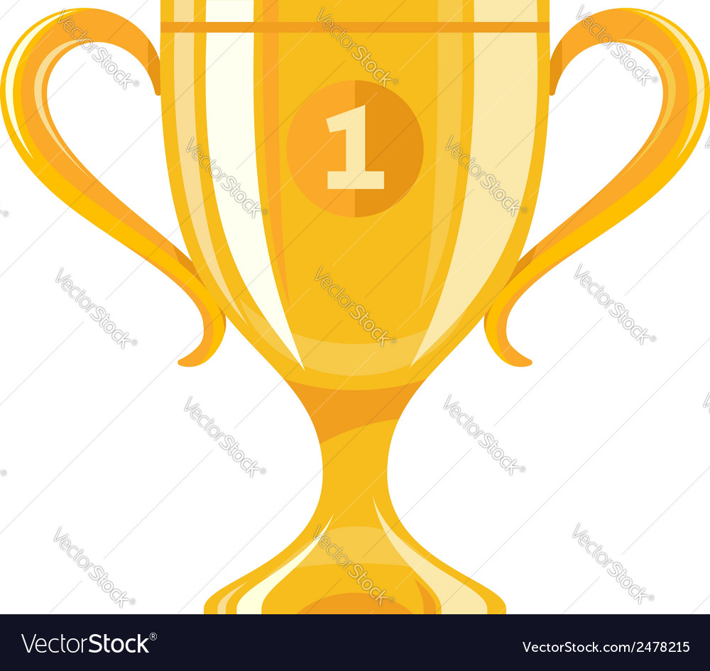 Winner cup vector | Price: 1 Credit (USD $1)