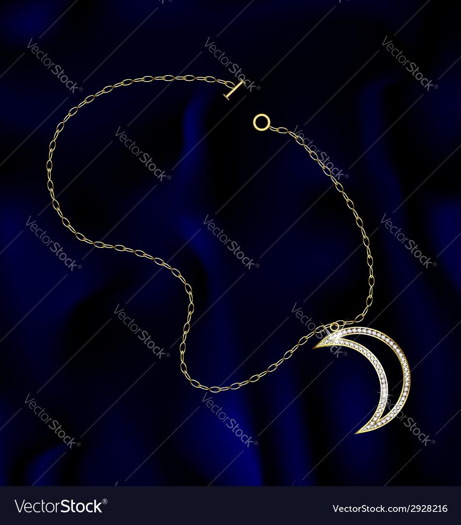 Bracelet moon vector | Price: 1 Credit (USD $1)