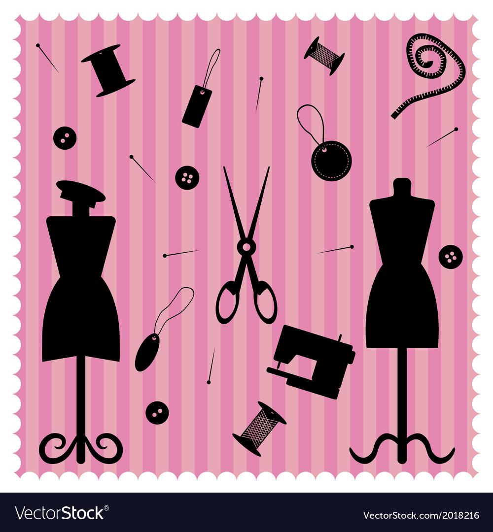 Fashion salon vector | Price: 1 Credit (USD $1)