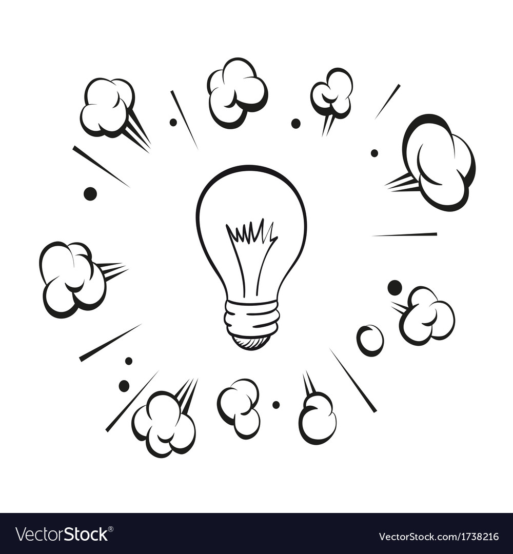 Lamp boom isolated on a white background vector   Price: 1 Credit (USD $1)