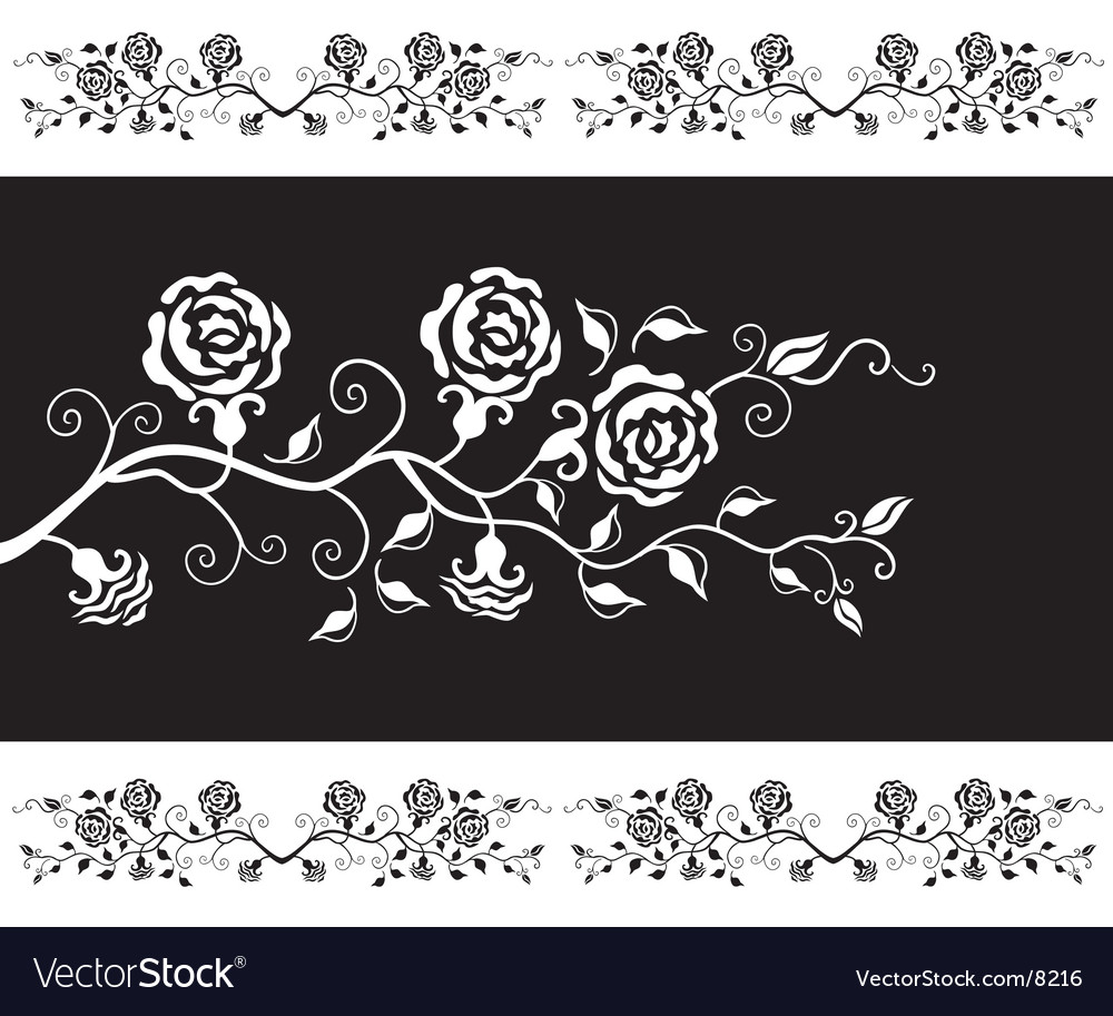 Roses design vector | Price: 1 Credit (USD $1)