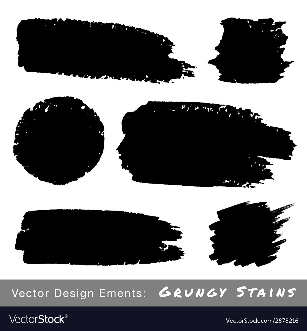 Set of hand drawn grunge backgrounds vector | Price: 1 Credit (USD $1)